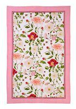 "Ulster Weavers, ""RHS Traditional Rose"",  Pure linen printed tea towel."