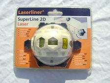Laserliner SuperLine 2D Classic Laser linéaire  NEUF SOUS BLISTER