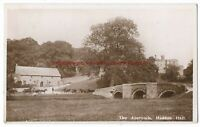 Derbyshire The Approach Haddon Hall Bakewell Real Photo Vintage Postcard 14.10