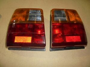 Fiat uno First 1° Series Pair Lights Rear Full New