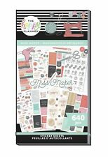 Happy Planner New Release MISS MAKER Value Pack Stickers Sticker Book