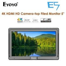 "5"" Eyoyo E5 Ultra Slim On-Camera Monitor HDMI 4K For DSLR Gimbal Stabilizer Sony"