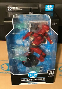 """McFarlane DC Multiverse  Justice League  7"""" Action Figure -  FLASH  In-Stock"""