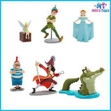 Disney Peter Pan 6 piece Figure Figurine Play Set cake topper Brand New