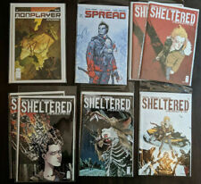 Mixed 1 Comics Image Lot Nonplayer Nate Simpson Spread Sheltered Movie Optioned