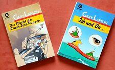 Gary Larson 2 Comics Ich und Du & Die Macht der Crash-Test-Puppen