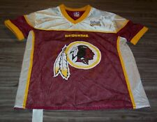 WASHINGTON REDSKINS REVERSIBLE NFL FLAG FOOTBALL JERSEY ADULT SMALL