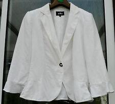 Per Una Hip Length Linen Formal Coats & Jackets for Women