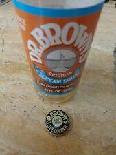 Soft Drink Bottle Crown Cap ~*~ DR BROWN'S Original Cream Soda ~ Flavor Favorite