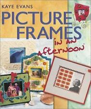 Picture Frames in an Afternoon Evans Scrapbook Papercraft