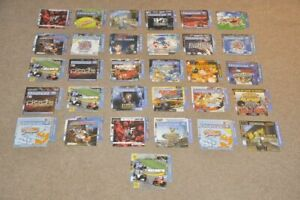 31 x Genuine - Game Artwork Only - Front/Back Inlay / Sleeves - Sega Dreamcast