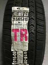 1 New 215 65 15 Cooper Lifeliner GLS Tire