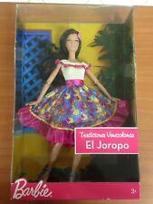 Barbie Mattel Exclusive Venezuela Tradiciones Joropo In Box