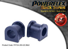 Lotus Elise Series 1 Powerflex Black Front ARB Bushes 22.2mm PFF34-203-22.2BLK