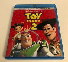 Toy Story 2 3D/Blu-ray/Dvd 4-Disc Set; No Digital Copy Rare Oop Read Desc.