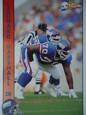 NFL 214 Leonard Marshall DE Defensive End Pacific 1992
