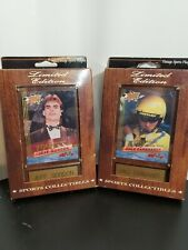 Vintage sports plaques Jeff Gordon and Dale Earnhardt