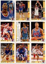 1991-92 UD Upper Deck New Jersey Nets Master Team Set w/Standouts (20)