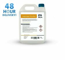 Isopropyl Alcohol IPA 99.9% Cleaning Industrial Pure Isopropanol LAB grade 1L 5L