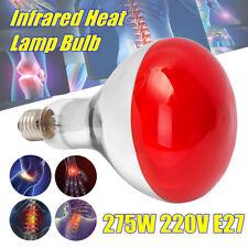 275W E27 220V LAMPADA TERMICA INFRAROSSI PER TERAPIA ANTALGICA ESTETICA MASSAGGI