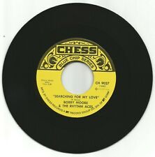 BOBBY MOORE & THE RHYTHM ACES - SEARCHING FOR MY BABY - EX+ CHESS BLUE CHIP 7""
