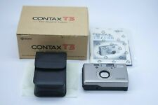 [TOP MINT IN BOX] CONTAX T3 Silver 35mm Point & Shoot Film Camera From JAPAN
