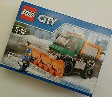 LEGO CITY 60083 Snowplow Truck New