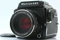 【MINT+2】 Mamiya M645 1000S + WLF + Sekor C 80mm f/2.8 + Cap From Japan 1081