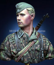 Alpine Miniatures, SS Grenadier 1944-45, NIB, 1/16th Bust Kit, Kit B003