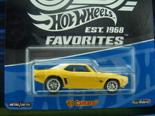 '18 HOT WHEELS 1969 CHEVY CAMARO NEW IN BOX 50th REAL RIDERS SERIES