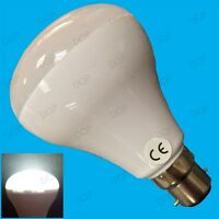 2x 6W R80 LED Ultra Low Energy Reflector 6500K White Spot Light Bulb BC B22 Lamp