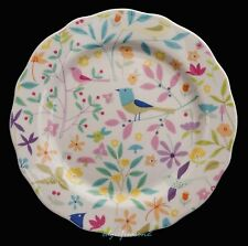 "PORTMEIRION FOR JOHN LEWIS SECRET GARDEN 6"" BREAD BUTTER SIDE PLATE FLORAL BIRDS"