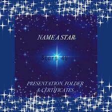 ☆ PERSONALISE A STAR..PERFECT PERSONALISED GIFT ☆18TH 21ST 50TH 60TH 70TH