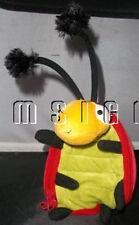 """Hallmark  Plush 8"""" Ladybug Purse Doll Zipper Pouch CUTE AS A BUG"""