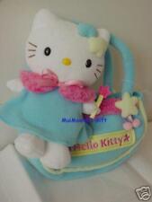 Sanrio Star Hello Kitty Plush with Handbag Fleece Blue