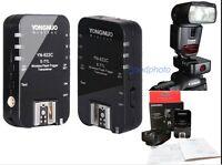 Yongnuo YN-622C Wireless E-TTL Flash Trigger for Canon 5DMark III 60D 550D 6D 7D