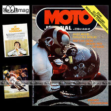 MOTO JOURNAL N°228 ★ FANTIC 50 CABALLERO ★ MICHEL ROUGERIE SIDE-CAR CROSS 1975