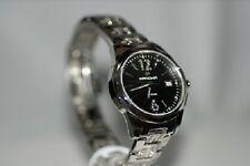 Swiss Military Hanowa Damenuhr 16-7009 Besatz schwarz Edelstahlarmband Uhr n NEU