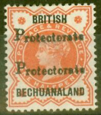 Lightly Hinged Victoria (1840-1901) Bechuanaland Stamps