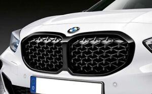 Originale BMW 1er Front-Ziergitter Wabenmuster Niere Nero F40 Nuovo 51135A39370