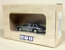 BUB 06704 MERCEDES 300sl Coupe - Grey Metallic 1 87 HO Diecast OVP Car