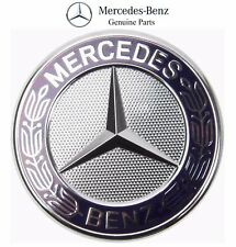 Mercedes C107 R107 W126 R129 W140 W164 X164 R170 W203 Hood Badge Emblem Genuine