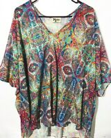 Women's Show Me Your MuMu SHOOK TUNIC Blouse Top Size Small EUC