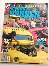 Street Rodder Magazine Fat Fenders The Olds Quad Four November 1989 011817R