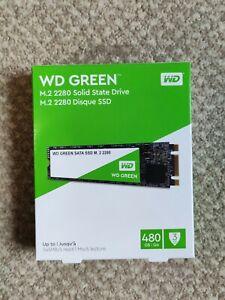 Western Digital WD Green 480GB M.2 2280 SATA III Internal SSD (WDS480G2G0B)