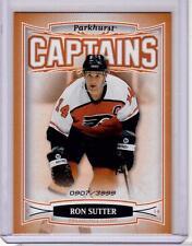 RON SUTTER 06/07 Parkhurst CAPTAINS Insert Card #201 Philadelphia Flyers /3999