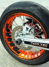 KTM SMC-R 690 Felgenaufkleber Felgenrandaufkleber Aufkleber Dekor Supermoto SMC