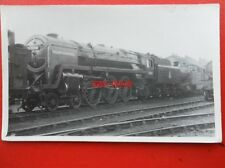 PHOTO  BR RIDDLES BRITANNIA 4-6-2 70004 WILLIAM SHAKESPEARE AT SWINDON WORKS