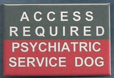 Access Required Psy Service Dog - service dog vest patch Pin button