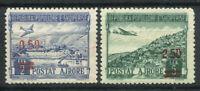 Albanien 1952 Mi. 521-522 Postfrisch 100% Flugpost Aufdruck
